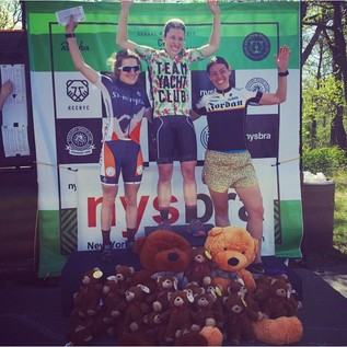 Kathryn C. wins the Women's Cat 4 Bear Mountain Spring Classic!